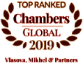 High rankings in Chambers Global
