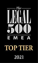 Top tier in Legal 500